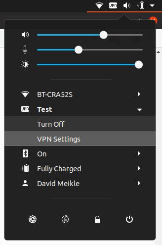 Cisco Meraki Client VPN on Ubuntu 19 04 | David Meikle